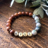 Keep Me Safe Personalized Bracelet
