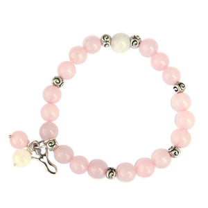 Rose Quartz Fertility Bracelet