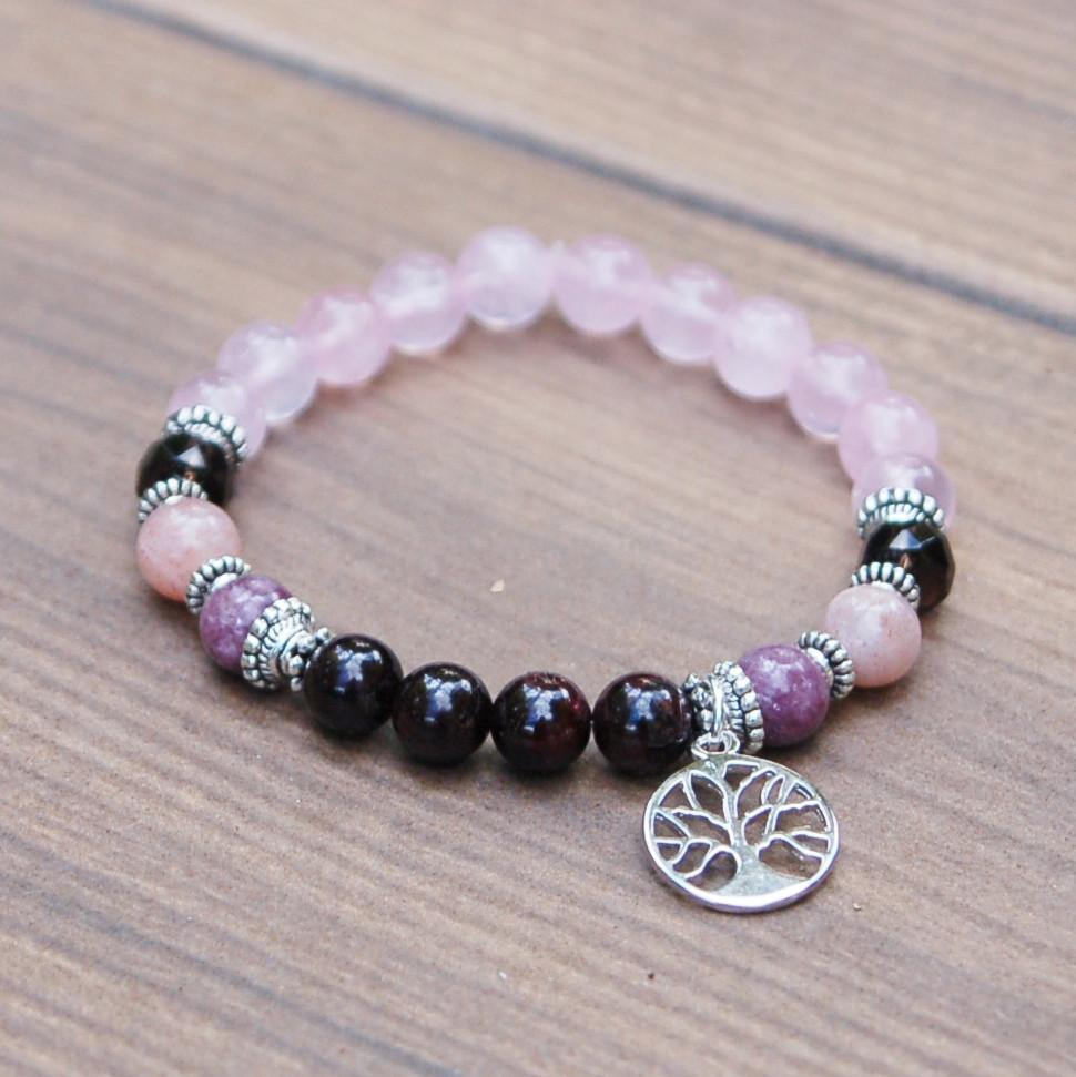 Rose Quartz Miscarriage and Fertility Bracelet