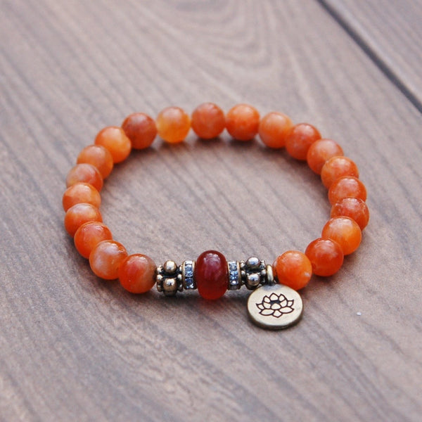 Sexual Energy Sacral Chakra Bracelet