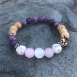 sleep well insomnia essential oil bracelet