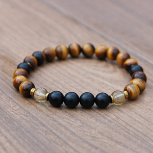 Men's Tigers Eye Fertility Bracelet