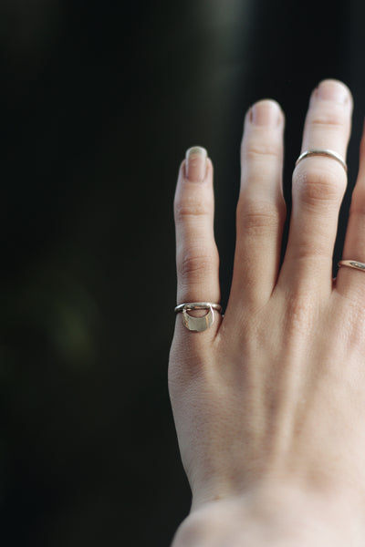 Moon Stacking Ring