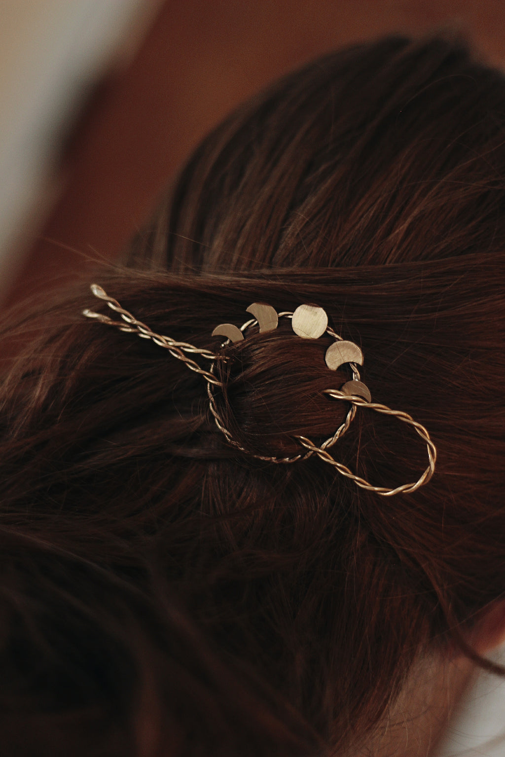 Moon Phase Hair Pin