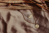 Leaf Layering Necklace