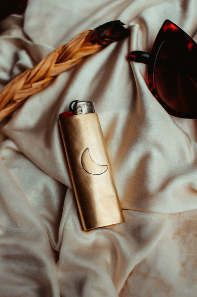 Brass Lighter Cover