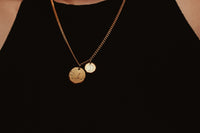Moon Sign Zodiac Constellation Necklace