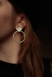 Sunbeam Door Knocker Earrings