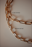 Paperclip Chain Layering Necklace