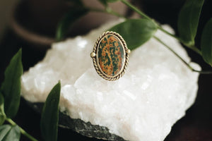 Jasper Statement Ring