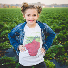 Load image into Gallery viewer, Youth Sassy Berry Art Tee