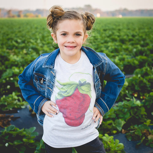 Youth Sassy Berry Art Tee