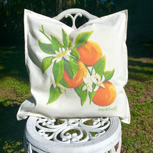 Load image into Gallery viewer, Orange Blossom Pillow