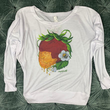 Load image into Gallery viewer, Art Tee ~ Honey Berry Long Sleeve