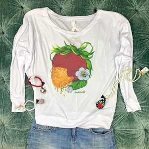 Art Tee ~ Honey Berry Long Sleeve