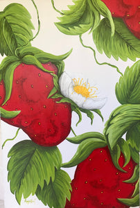 Strawberry Heaven - Original Art