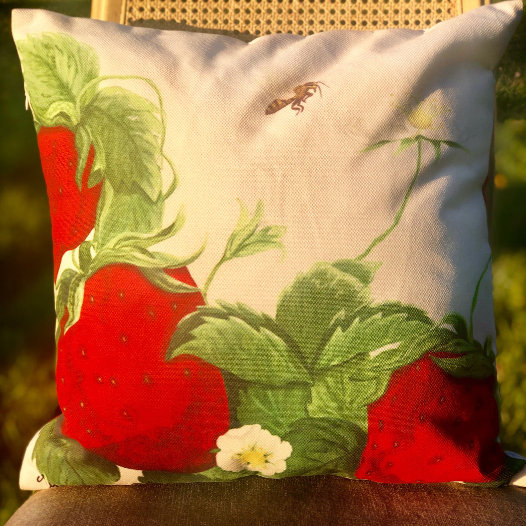 Berry & The Bee Pillow
