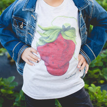 Load image into Gallery viewer, Art Tee ~ Youth Sassy Strawberry