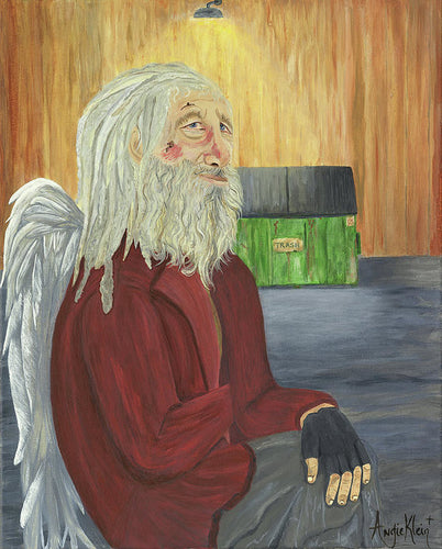 Art Print - Angels Among Us 'Bill'