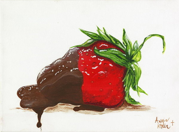 Art Print - Chocolate Dipped