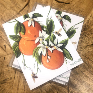 Orange Blossom Note Cards
