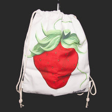 Load image into Gallery viewer, Strawberry Art Backpack