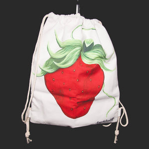 Strawberry Art Backpack