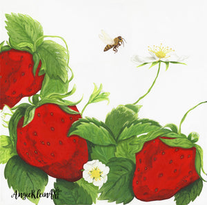 Art Print - Berry & The Bee