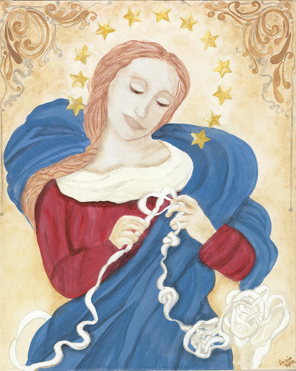 Art Print - Mary Undoer of Knots