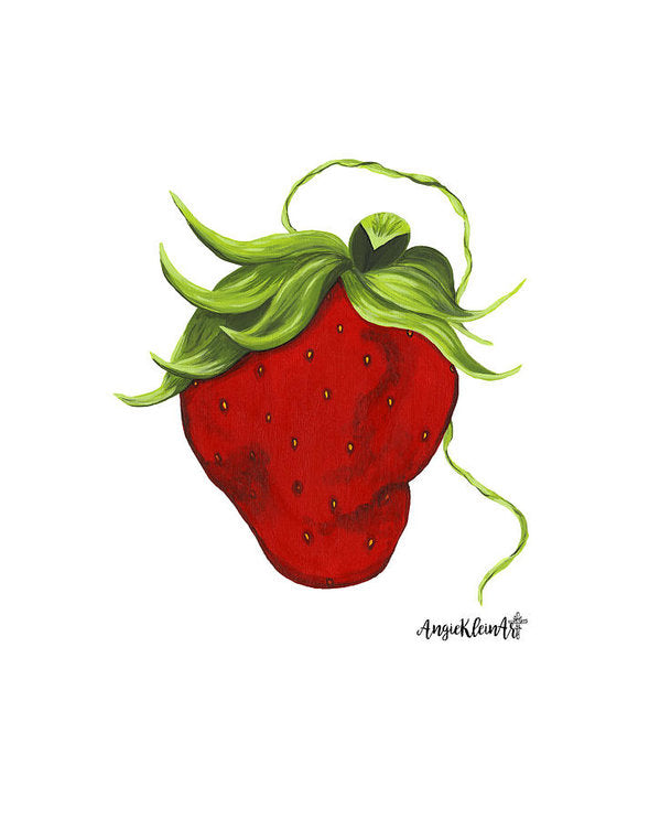 Art Print - Sassy Strawberry