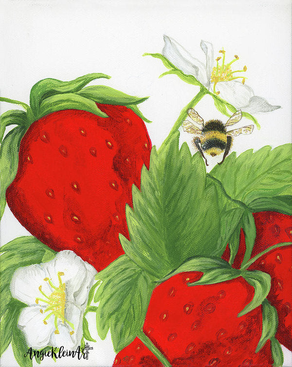 Art Print - The Berry Patch