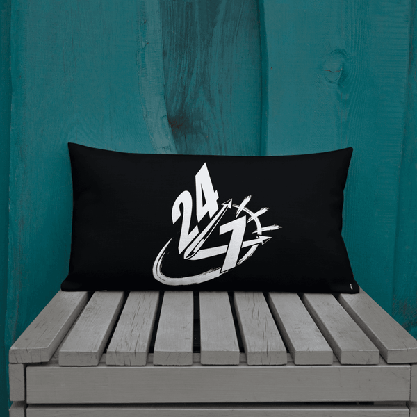24/7 HUSTLE PREMIUM PILLOW - REBHORN DESIGN