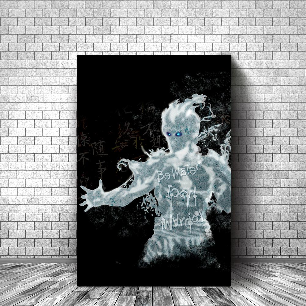 BRUCE LEE - BE LIKE WATER - REBHORN DESIGN