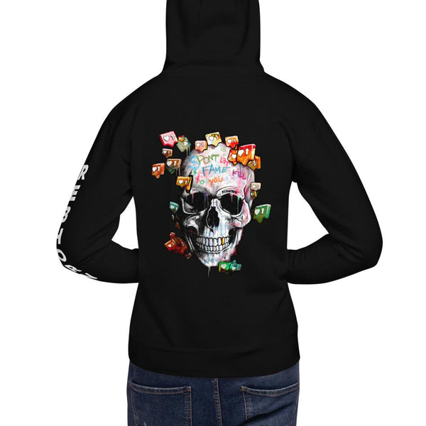 Don't Let Fame Kill Your Soul Unisex Premium Hoodie - REBHORN DESIGN