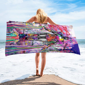 ELEVATE YOURSELF BEACH TOWEL - REBHORN DESIGN