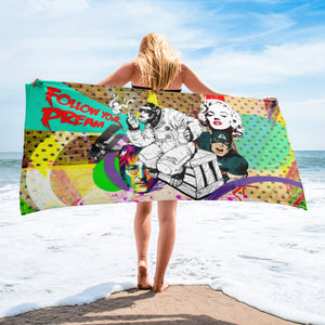 FOLLOW YOUR DREAMS BEACH TOWEL