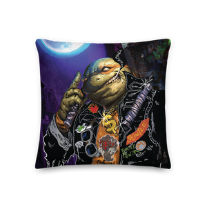 KEEPING IT REAL WITH MICHELANGELO PREMIUM PILLOW - REBHORN DESIGN