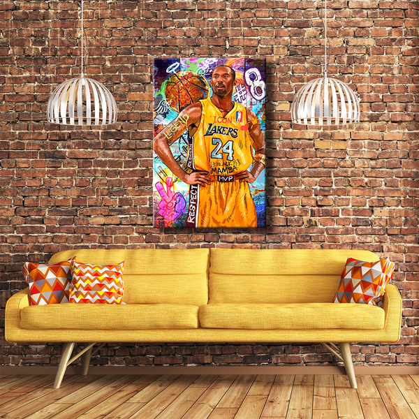 KOBE BRYANT - LEGENDS NEVER DIE - REBHORN DESIGN