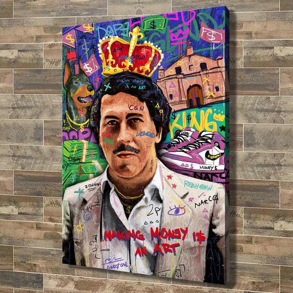 MAKING MONEY IS AN ART (ESCOBAR EDITION) - REBHORN DESIGN