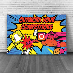OUTWORK YOUR COMPETITORS - REBHORN DESIGN