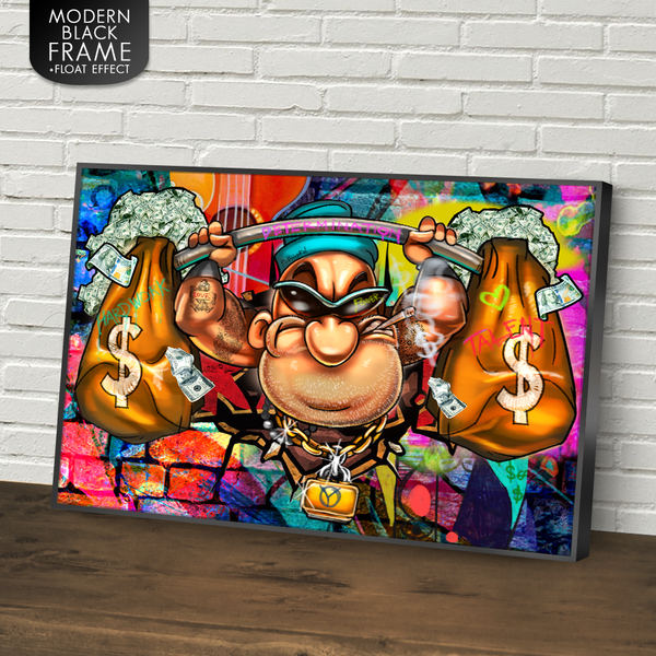 RAISE THE BAR WITH POPEYE - REBHORN DESIGN