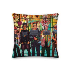 THE USUAL SUSPECTS PREMIUM PILLOW - REBHORN DESIGN
