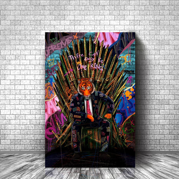 THERE CAN ONLY BE ONE KING - REBHORN DESIGN