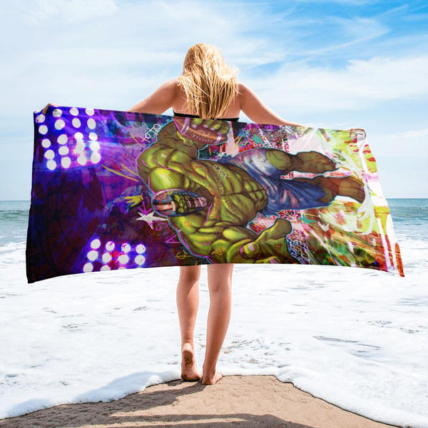 UNSTOPPABLE BEACH TOWEL - REBHORN DESIGN
