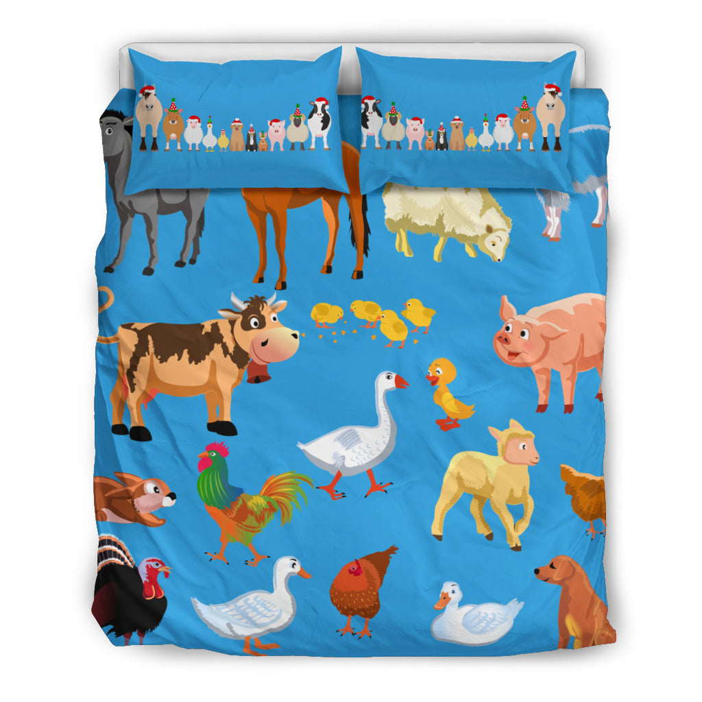 Farm Animal Bedding set
