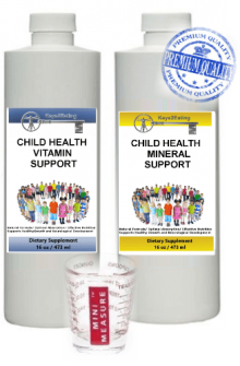 Child Health Support Vitamins and Minerals