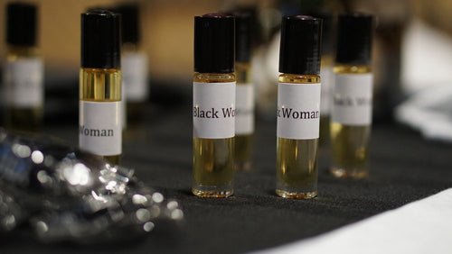 BLACK WOMAN OIL (FRAGRANCED BODY OIL)