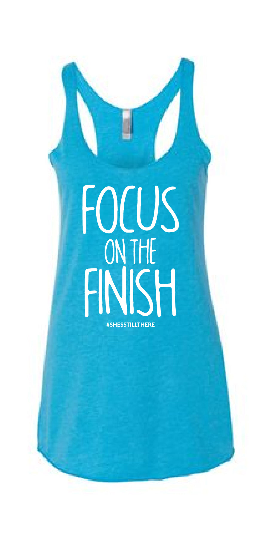 FOCUS ON THE FINISH (TURQUOISE)