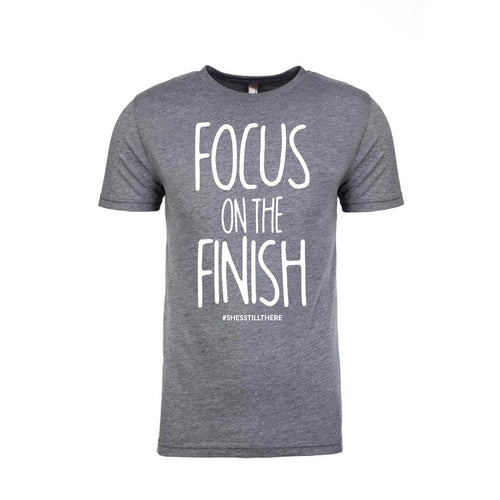 FOCUS ON THE FINISH (GREY)