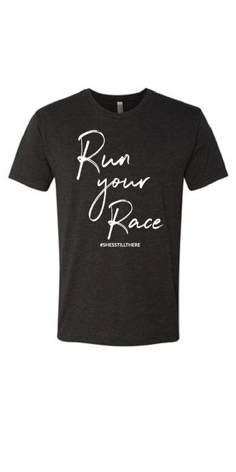 RUN YOUR RACE (CHARCOAL)